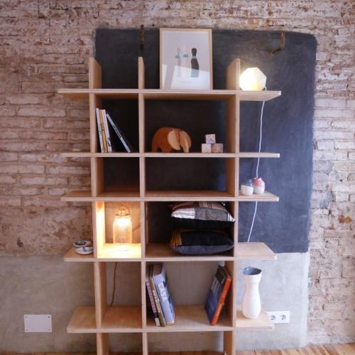 estanteria 01 en madera
