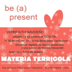 Evento MATERIA TERRICOLA navidad 2019 IVANA BERENSTEIN